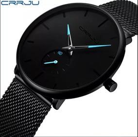 Relógio Masculino Original Casual Luxo Ponteiro Azul