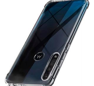 Funda Transparente Reforzada Moto G8 Plus G8 Play One Macro