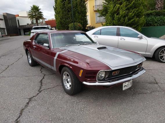 Mustang Clasico 1970. Factura Original. Placas De Clasico