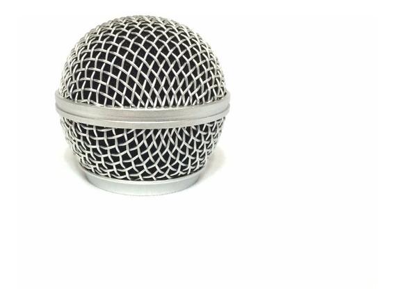 Pell Globo Grelha Microfone Shure Sm58 Sm 58 Beta 58 A 58a