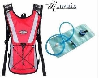Mochila Hidratação Impermeável C/ Bolsa D Água Bike 2 Litro
