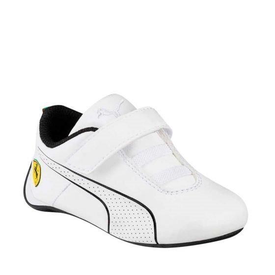 Tenis Casual Para Niño Puma Ferrari Blanco Yx1017