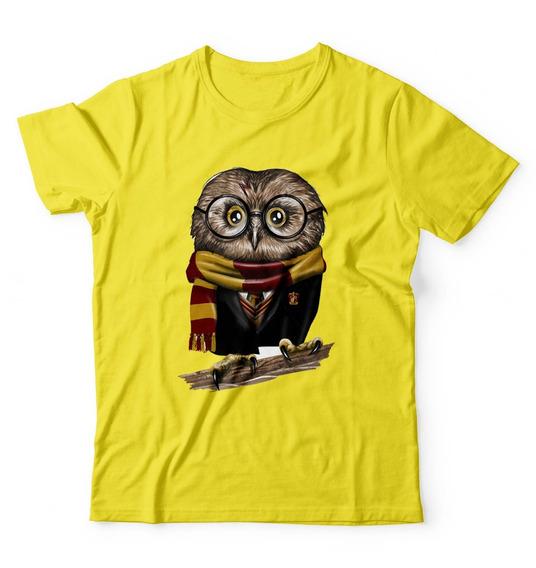 Camisa Camiseta Harry Potter Coruja Filme Personalizada Top