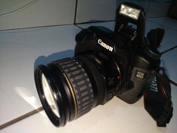 Camera Canon 40d Com Lente