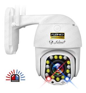 Camara Wifi Exterior Fhd Domo Zoom Nube Video Seguridad App