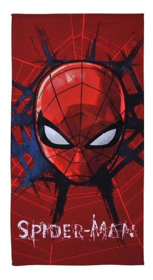 Toalla Playa Mf 70x140 Spiderman Face, 814172