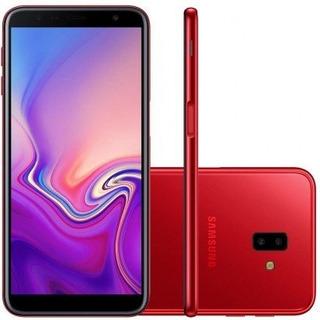 Samsung Galaxy J6+ J610g 32gb Vermelho + Pelicula De Vidro