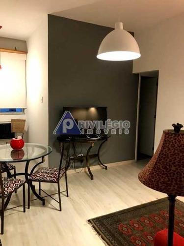Apartamento À Venda, 2 Quartos, Copacabana - Rio De Janeiro/rj - 6404