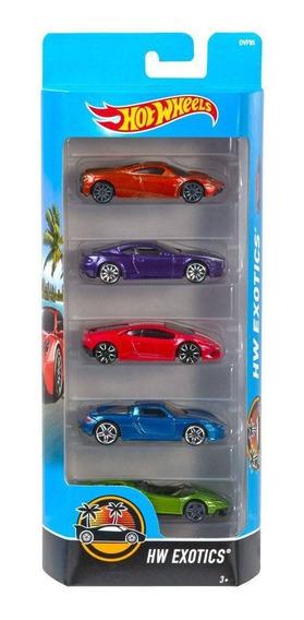 Carrinhos Hot Wheels Pacote Com 5 Carros