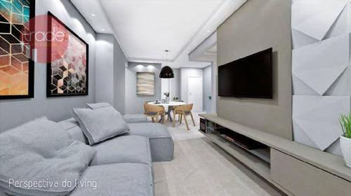 Imagem 1 de 10 de Apartamento Com 3 Dormitórios À Venda, 91 M² Por R$ 437.328,00 - Ribeirânia - Ribeirão Preto/sp - Ap6615