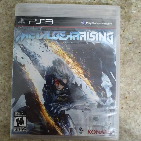 Metal Gear Rising Revengeance Mídia Física Lacrado Ps3