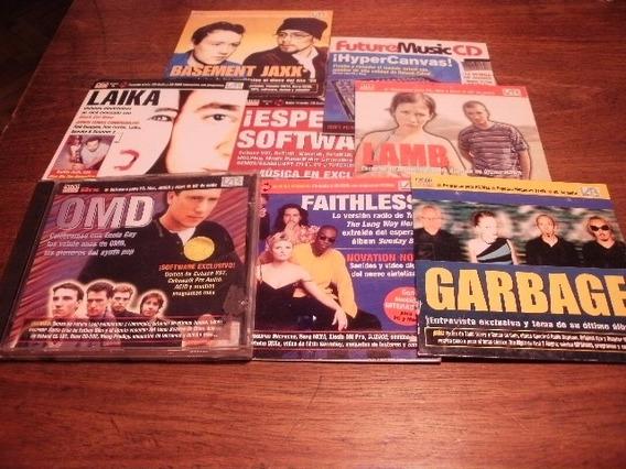 Lote De 8 Cds De La Revista Future Music