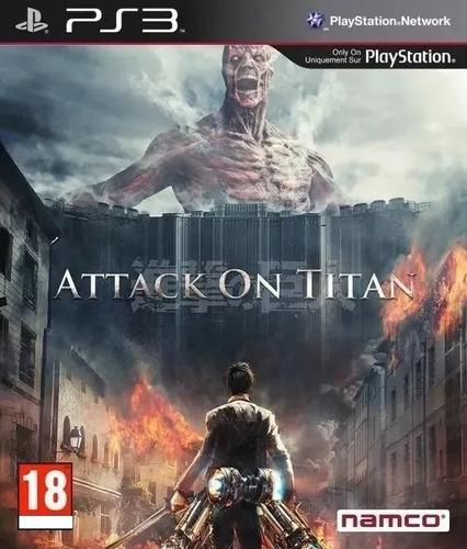 Attack On Titan Ps3