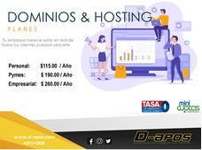 Planes De Dominios Y Hosting - Diseño Web