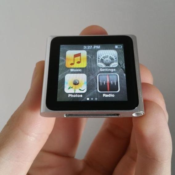 iPod Nano 16gb - Cinza Com Capa