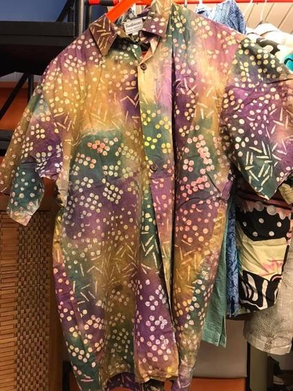Lote X 5 Camisas Vintage Hawaianas Mas Una De Pesca