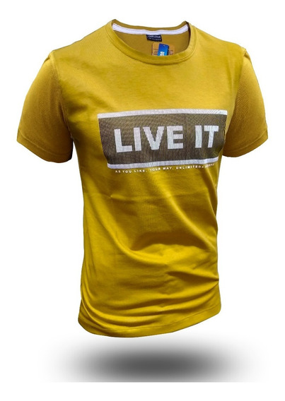 Remera Moda Live It Hot Sale Combo X3 The Uniform Co