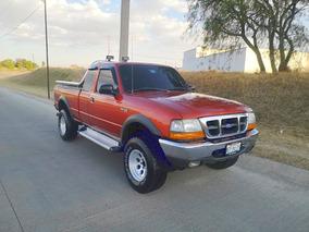 Pick Up Ford Ranger Xlt Cabina Y Media 4 Ptas., Mod. 2000