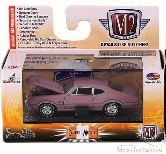 M2 Machine Auto Drivers 1970 Oldsmobile Cutlass 442 1/64