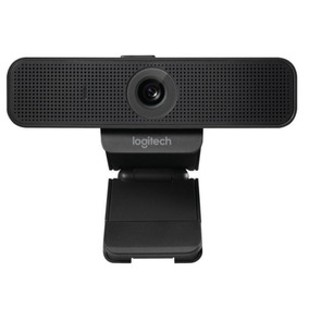 Webcam Full Hd 1080p Logitech Com Cortina De Privacidade C9