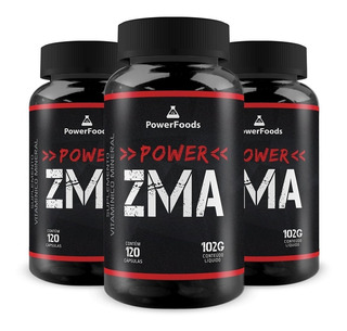 3 X Power Zma - Powerfoods - Frete Grátis!