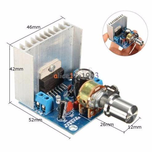 Amplificador Stereo Digital Tda7297 2x15w