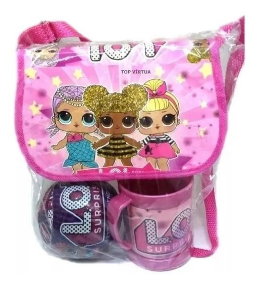 Lol Kit Bolsa+caneca+boneca Surpresa