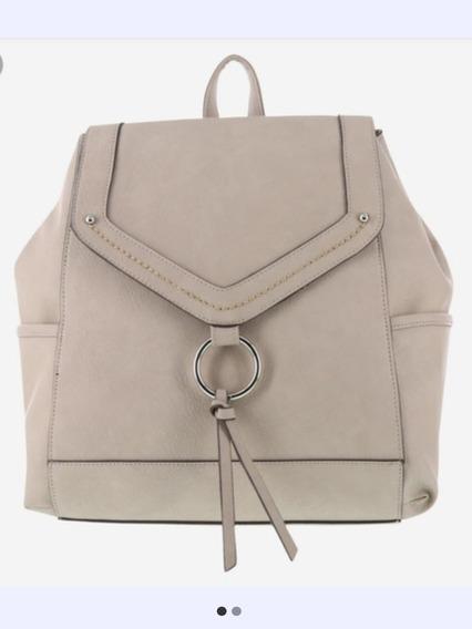 Bag Pack Bolsa Dama American Eagle Color Nude