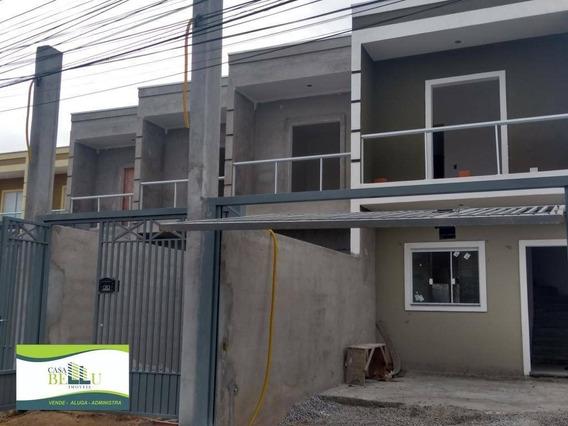 5 Sobrados Independentes - Cômodos Amplos - Franco Da Rocha - Ca0532