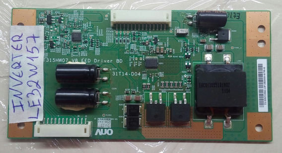 Placa Inverter Aoc Le32w157 T315hw07