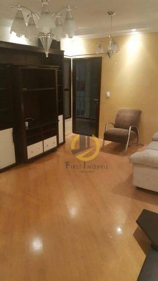 Apartamento Com 3 Dormitórios, 1 Suíte, 2 Vagas82 M² - Ap0875