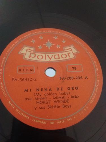 Horst Wende Y Sus Skiffle Boys Disco Pasta Pa-200-236 C23