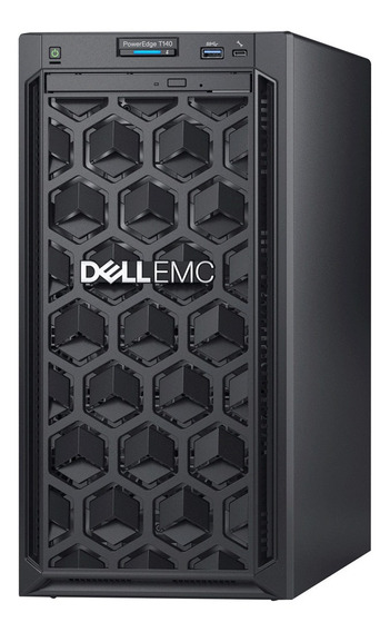 Servidor Dell Poweredge T140 Xeon E2124 Ram 8gb 2x Hdd 1tb Dvd