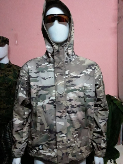 Campera De Softshell Tacticas