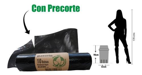 Bolsas De Basura Por 10und Grandes Biodegradables