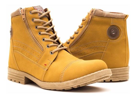 Sapato Coturno Bota Masculin Casual Adventure Social Rua