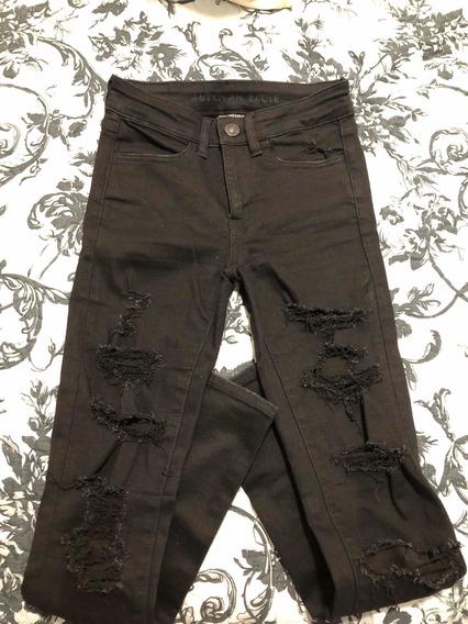 Pantalón De Jeans Roto American Eagle