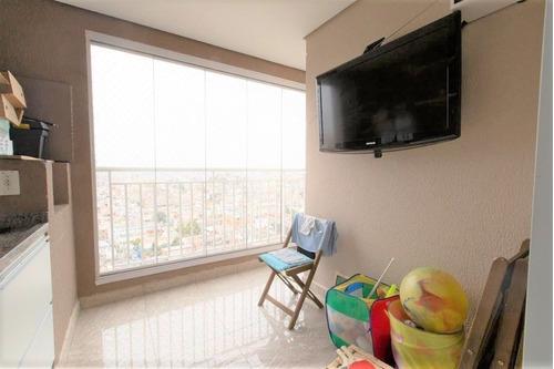 Imagem 1 de 17 de Apto Na Vila Formosa Com 2 Dorms Sendo 1 Suíte, 2 Vagas, 74m² - Ap14711