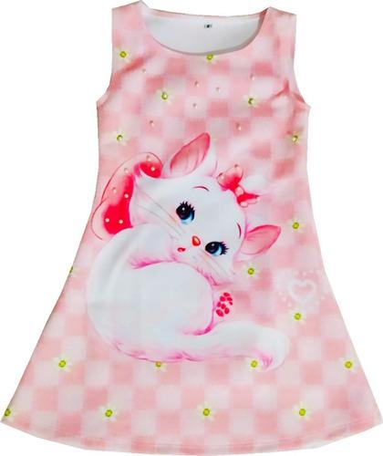 Imagen 1 de 5 de Vestido Gata Marie - Ig