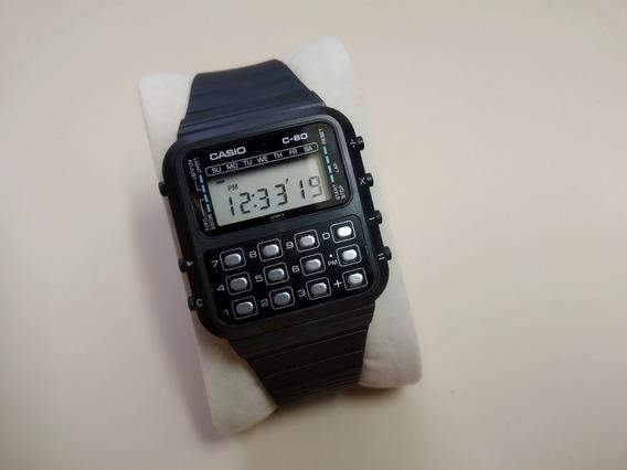 Raríssimo Relógio Casio Calculadora C-60 - O Primeiro!