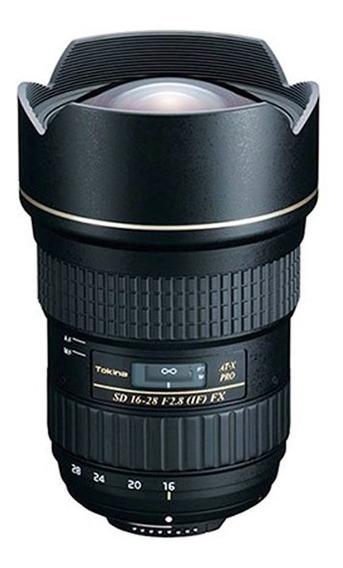 Lente Tokina Pro Fx 16-28mm F/2.8 Para Canon Full Frame