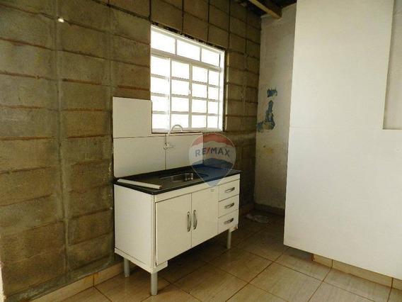 Casa Com 1 Dormitório Para Alugar, 40 M² Por R$ 500,00/mês - Centro - Nova Odessa/sp - Ca0142