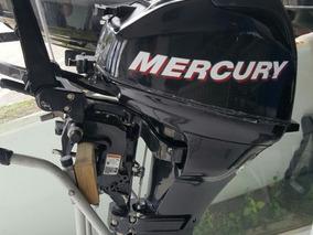 Motor Popa Mercury 15hp 4 Tempos Para Lancha Ou Bote