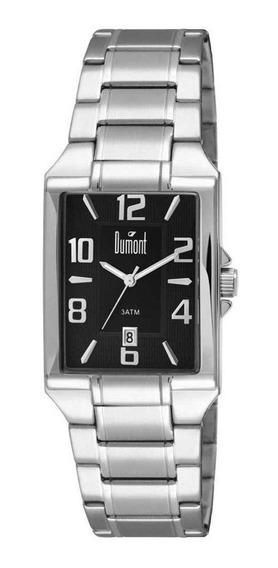 Relógio Dumont Masculino Slim Dugm10ab/4p Prata