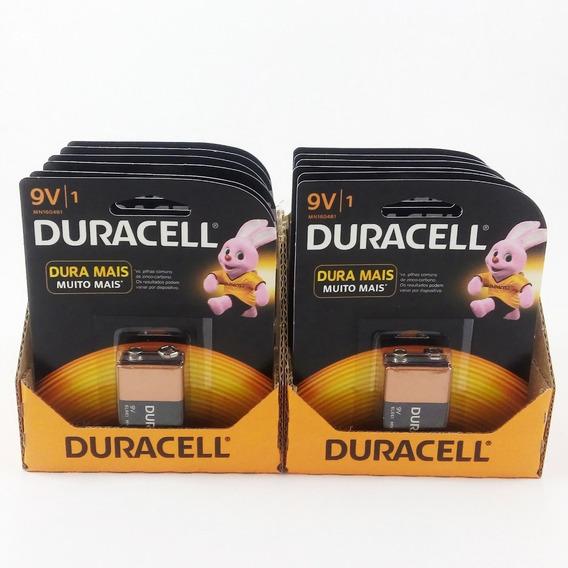 Kit C/24 Baterias Duracell 9v - Atacado 100% Original Validade:2023