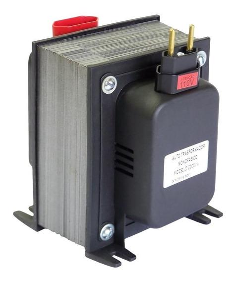 Auto Transformador Conversor Portátil 2000va 110v/220v