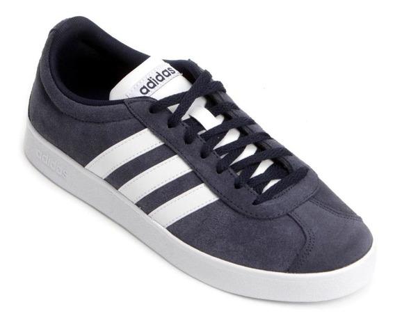 Tênis adidas Vl Court 2.0 - Masculino - Marinho/branco