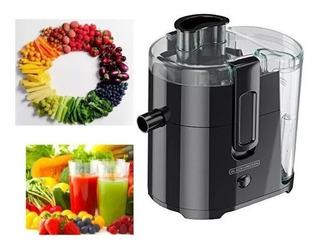 Extractor De Frutas Y Verduras Black & Decker 400w