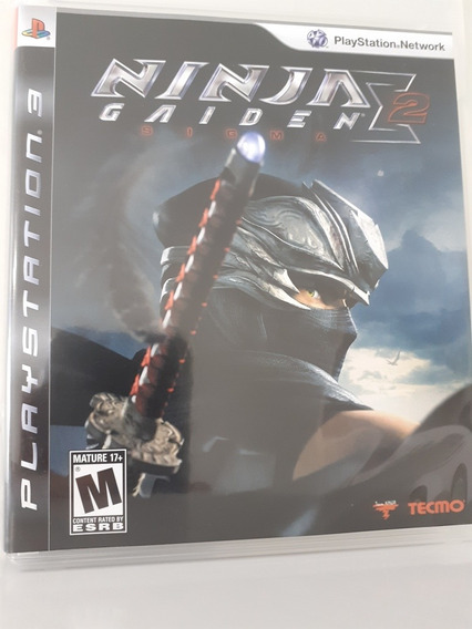 Jogo Ninja Gaiden 2 Para Ps3