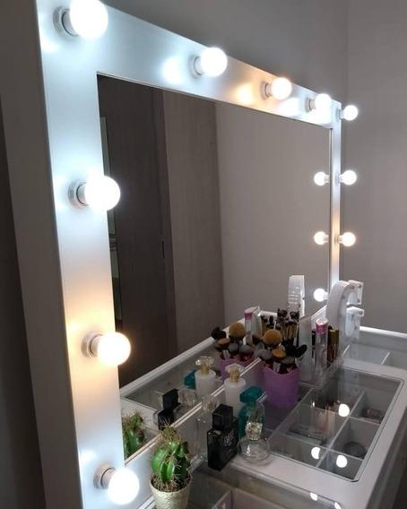 8 Lâmpada Led Bulbo Para Camarim Ring Light Penteadeira Casa